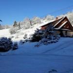 Dom w zimowej szacie